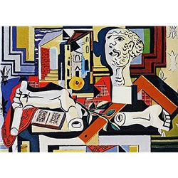 Limited Edition Picasso - Studio with Plaster Bust - Collection Domaine Picasso