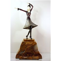 Miro - Bronze and Ivory Sculpture by Chiparus