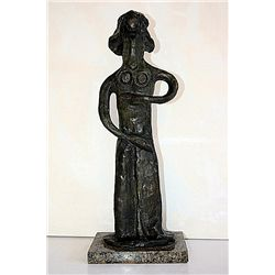 Pablo Picasso Original, limited Edition Bronze - Fille