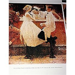 Norman Rockwell Lithograph-After the Prom