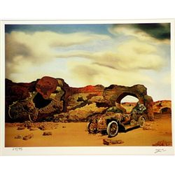 Salvador Dali Signed Limited Edition - Critical Solitude