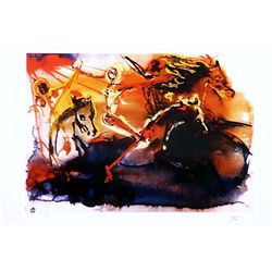 Salvador Dali Signed Limited Edition - The Horsemen of Apocalypse