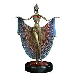 Lady Peacock - Limited Edition Bronze by Sergey
