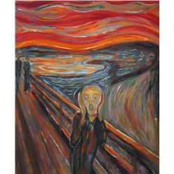 The Scream - Munch - Limited Edition on Canvas
