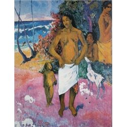 Bathers by Paul Gauguin  Lithograph