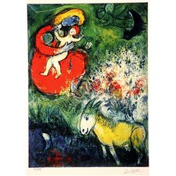 Marc Chagall  Signed Limited Edition - The Sources of Music