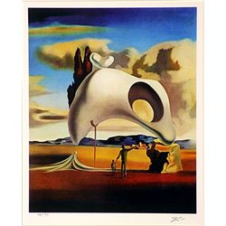 Salvador Dali Signed Limited Edition - Atavistc Vestiges After the Rain