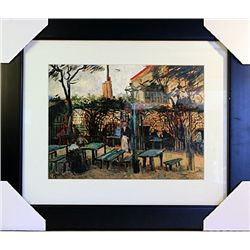 Vincent Van Gogh  Limited Edition-Terrance of the Cafe