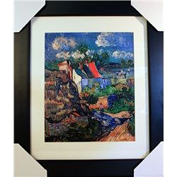 Vincent Van Gogh  Limited Edition-Houses in Auvers