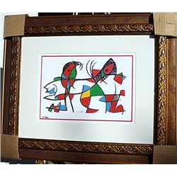 Two Fishes  - Miro - Limited Edition