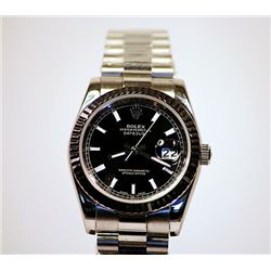 Man's Black Face Rolex-Repro