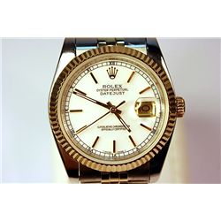 Two Tone Rolex-Repro White Face