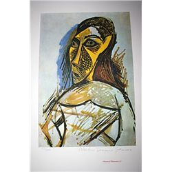 Limited Edition Picasso - Female Nude (Study for Les Demoiselles d' Avignon) - Collection Domaine Pi