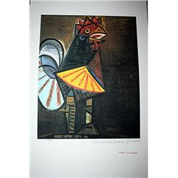 Limited Edition Picasso - Rooster - Collection Domaine Picasso