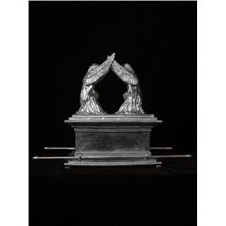 Original Fine Silver Sculpture - Arc of the Covenant by D. Hunter