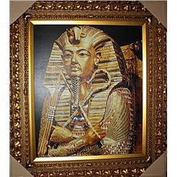 Golden Effigy of Tutankhamen  - Unknown artist - Limited Edition