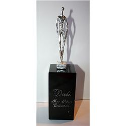Dali  Real .999 Silver Sculpture - Thin Man