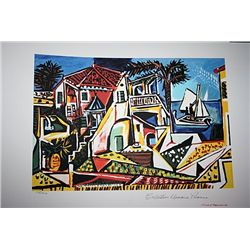 Limited Edition Picasso - Mediterranean Landscape - Collection Domaine Picasso