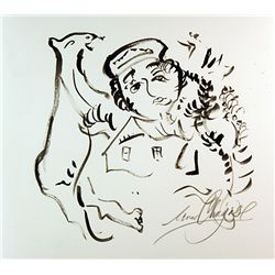 Original drawing  by Chagall