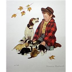 Pride of Parenthood- puppy by Rockwell