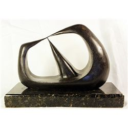 Henry Moore  Original, limited Edition  Bronze -Three Points