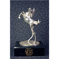Dali Limited Edition Real Silver Sculpture - Horse, The Temptation Of Saint Anthony