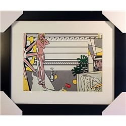 Roy Lichtenstein Limited Edition-Artist Studio- with Model