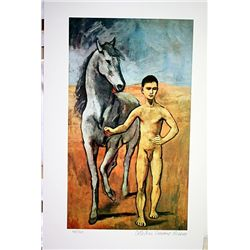 Picasso Limited Edition - Nude Young Man With Horse - from Collection Domaine Picasso