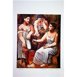 Picasso Limited Edition - 3 Women At The Spring - from Collection Domaine Picasso