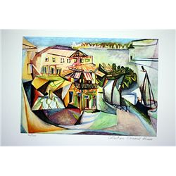 Picasso Limited Edition - Cafe In Royan - from Collection Domaine Picasso