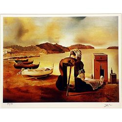 Salvador Dali Signed Limited Edition - The Weaning of Furniture