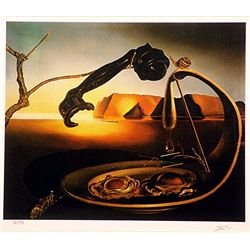 Salvador Dali Signed Limited Edition - The Sublime Moment