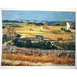 Limited Edition Van Gogh- Harvest Landscape, Arles 1888 - Collection Domaine Van Gogh