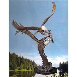 Bronze Sculpture - Rapture II by D. Scott