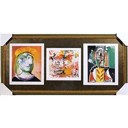 Lithographs Set by Picasso and Kooning
