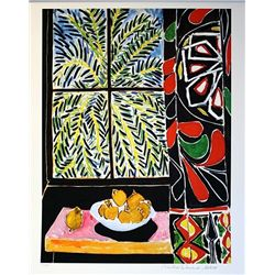 Limited Edition Matisse- The Egyptian Curtain - Collection Domaine Matisse
