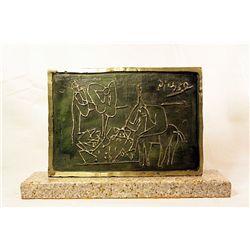 Pablo Picasso  Original, Limited Edition Bronze -Erotic II