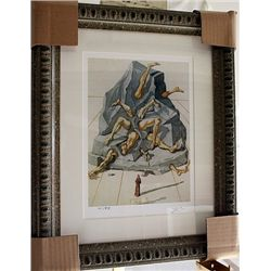 Salvador Dali Signed Limited Edition - The Simoniacs
