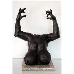 G. Lachaise  Original, limited Edition  Bronze Sculpture