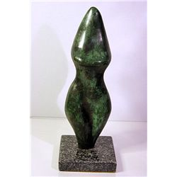 Jean Arp  Original, limited Edition  Bronze Sculpture  WOMAN TORSO
