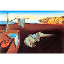 The Persistence Of Memory - Dali - Limited Edition on Canvas