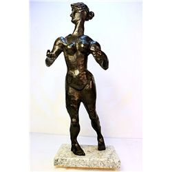 Nadelman  Original, limited Edition  Bronze - Woman
