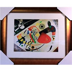 Wassily Kandinsky Limited Edition-THE RED SPOT