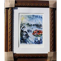 Artist and Model  - Chagall - Limited Edition