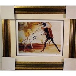 Salvador Dali- Signed Limited Edition