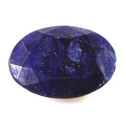 Natural African Sapphire Loose 24.5ctw Oval Cut