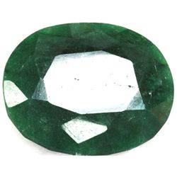 African Emerald Loose Gems 255ctw Oval Cut