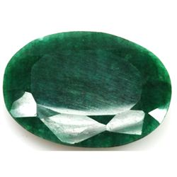 African Emerald Loose Gems 239.84ctw Oval Cut