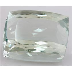 Natural Rare Green Kunzite Emerald Cut 30x35mm 195.52ct