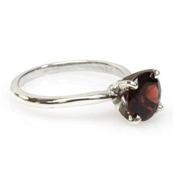 Natural 2.25ctw Ruby .925 Sterling Silver Ring